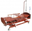 Кровать медицинская c механическим приводом E-31 WOOD (дерево)