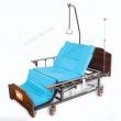 Кровать медицинская МЕТ REVEL электрическая для лежачих больных с электро-туалетом и электро-переворотом