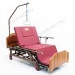 Кровать медицинская электрическая МЕТ REVEL XL  с  переворотом и туалетом с увеличиной шириной ложа MET REVEL XL (120см)